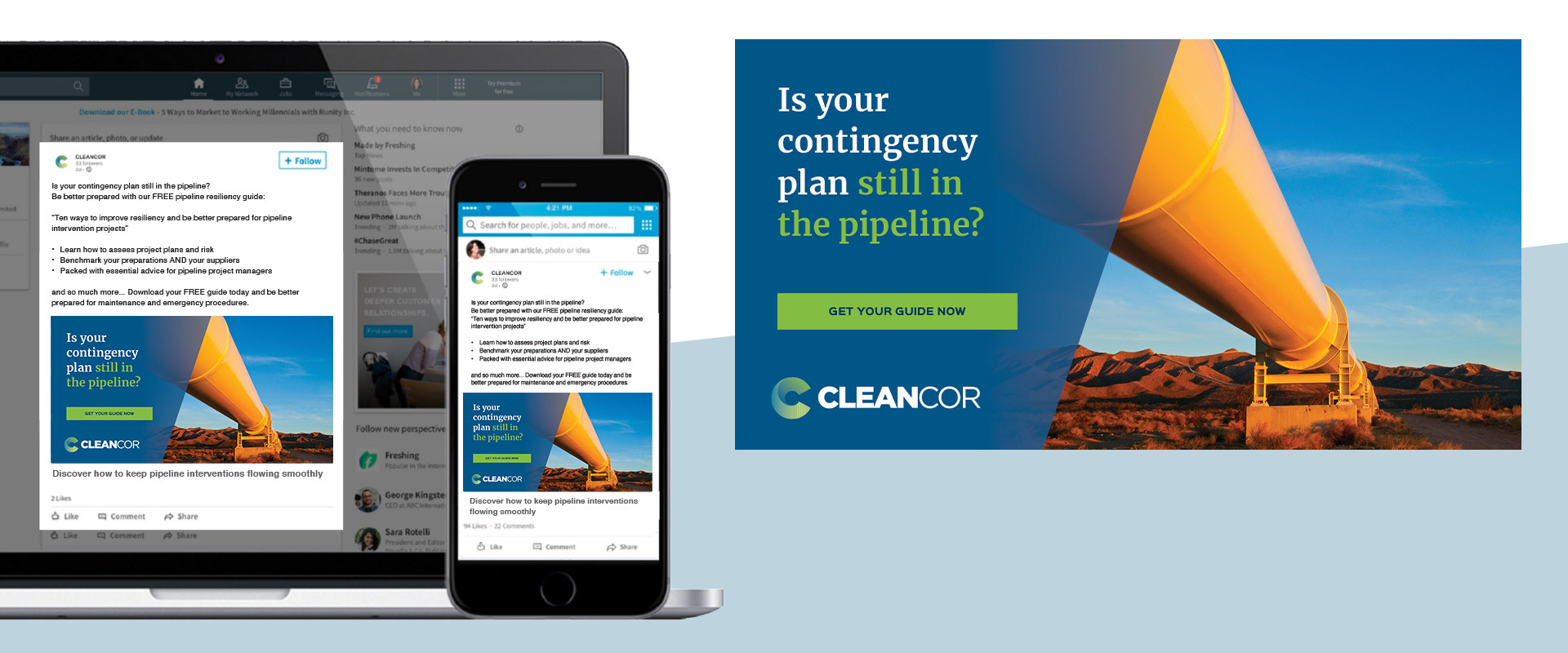 CLEANCOR Pipeline Resiliency
