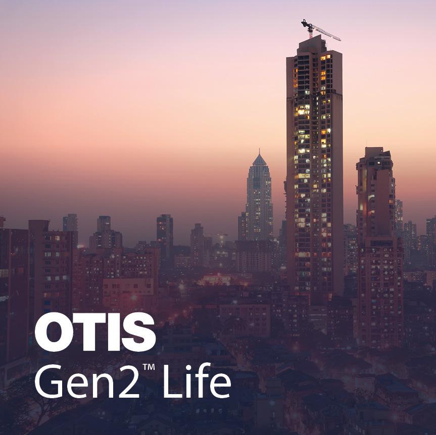 OTIS Gen2 Life Case Study Image